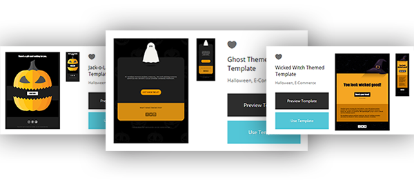 free Halloween email templates