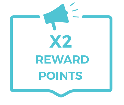 thanksgiving reward points double