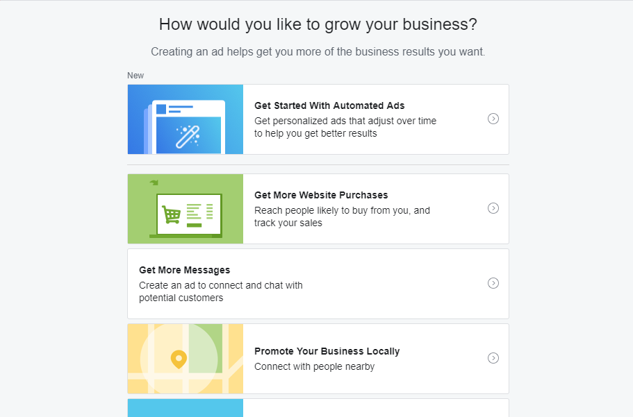facebook promote button for marketing calendar