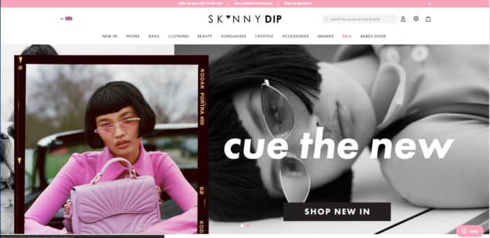 Best Shopify Stores Skinny Dip