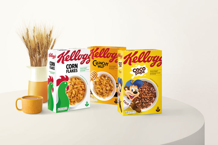 Kellogg's new packages