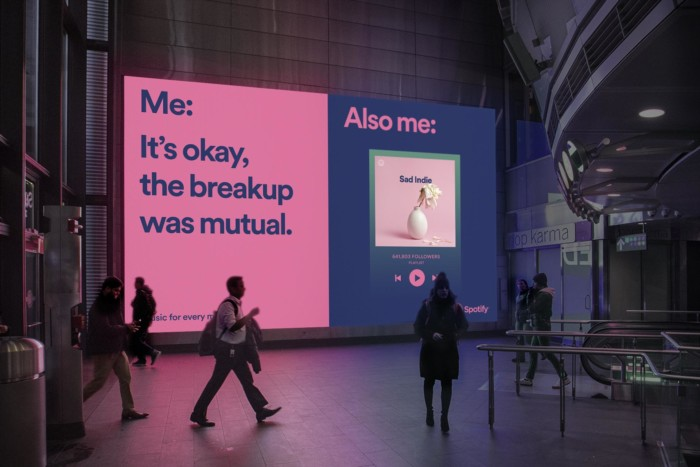 Spotify's new marketing campaign based on memes