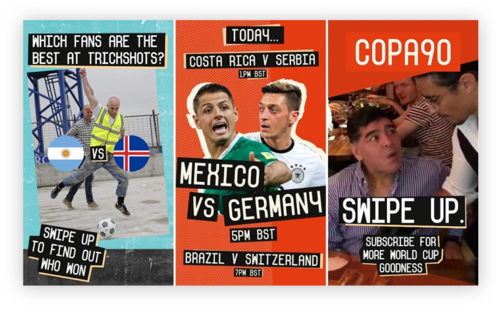 Copa90 does Snapchat for business with UGC