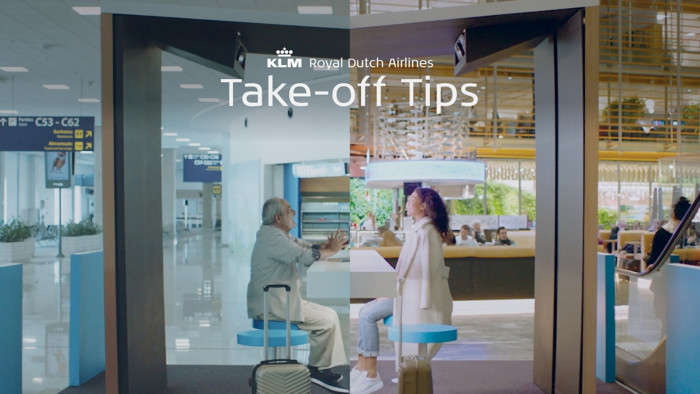 KLM Take-off Tips Campaign