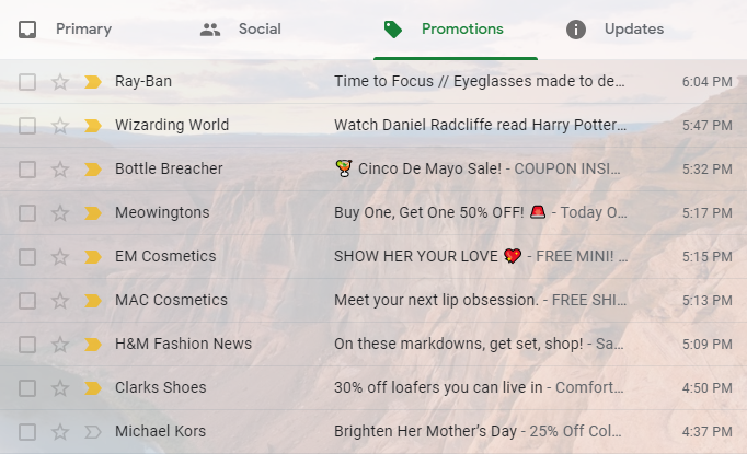 ecommerce email marketing subject lines