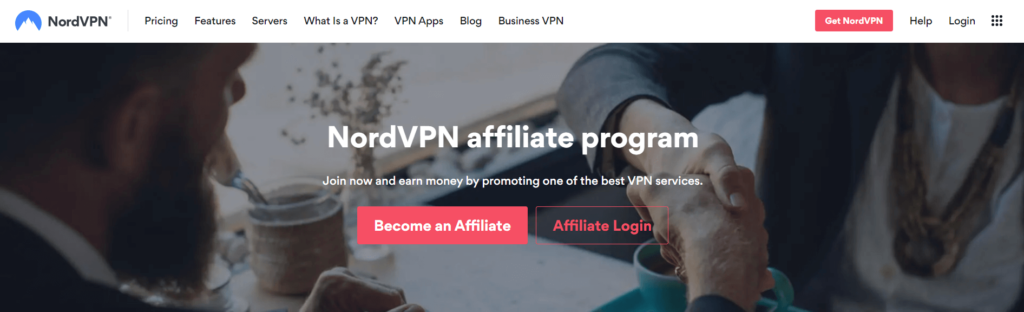 best vpn affiliate program by NordVPN