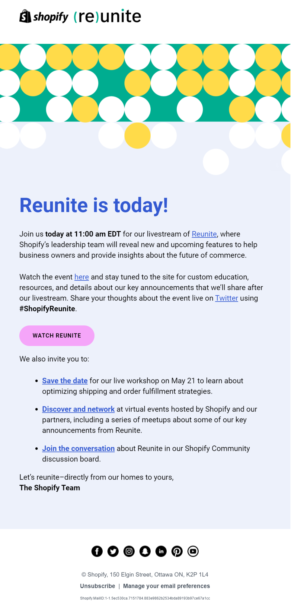 best reminder email marketing examples Shopify