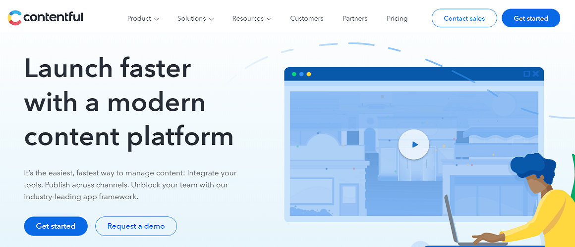 contentful cms solution