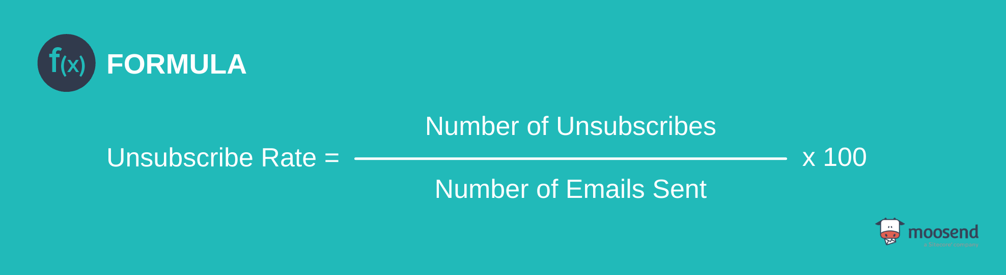 unsubscribe rate calculation